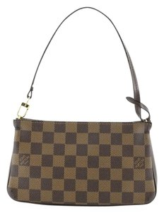 Louis Vuitton Navona Pochette Accessoires Wristlet in brown