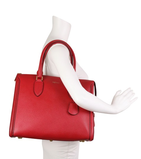 Alexander McQueen Tote in Red Image 10