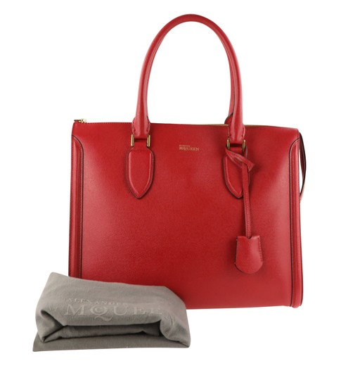 Alexander McQueen Tote in Red Image 11