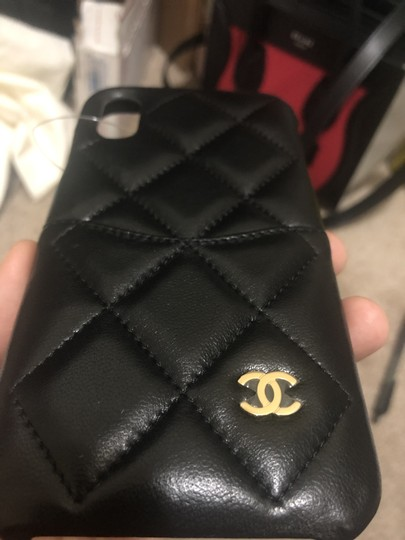 Chanel Chanel Logo Lambskin Quilted iPhone X black Image 2