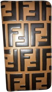 Fendi FENDI Calfskin FF IPhone X Case