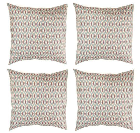 Preload https://img-static.tradesy.com/item/25967542/4-pack-diamond-accent-print-18x18-throw-pillow-covers-decoration-0-0-540-540.jpg
