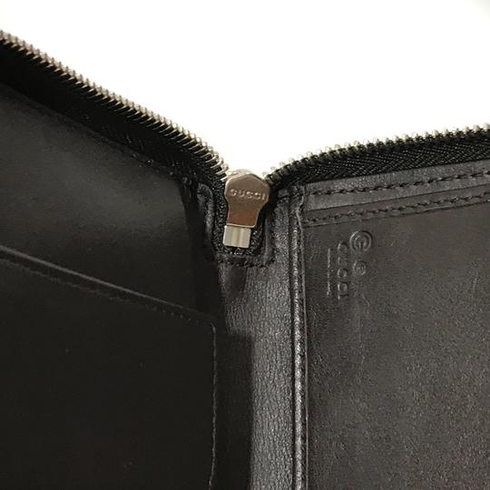Gucci NEW GUCCI XL Leather Microguccissima Zip around Wallet Image 9