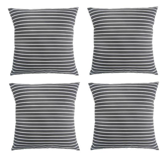 Preload https://img-static.tradesy.com/item/25967592/4-pack-vertical-striped-print-18x18-throw-pillow-covers-decoration-0-0-540-540.jpg