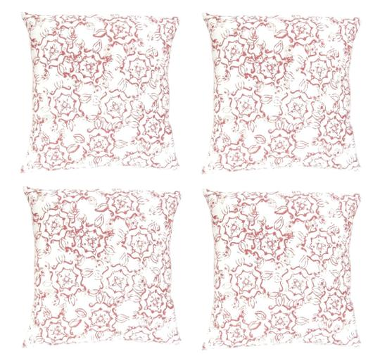 Preload https://img-static.tradesy.com/item/25967664/4-pack-modern-floral-print-18x18-throw-pillow-covers-decoration-0-0-540-540.jpg