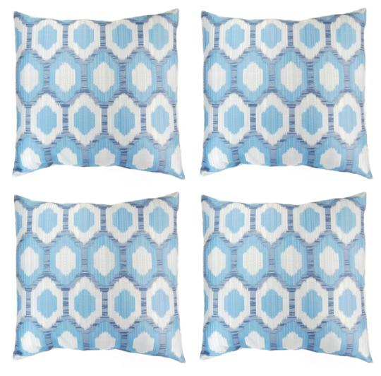 Preload https://img-static.tradesy.com/item/25967697/4-pack-octagon-lock-print-18x18-throw-pillow-covers-decoration-0-0-540-540.jpg