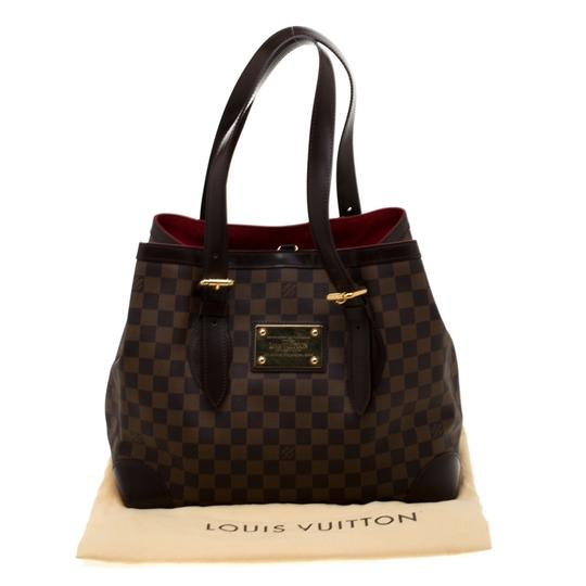 Louis Vuitton Canvas Tote in Brown Image 11