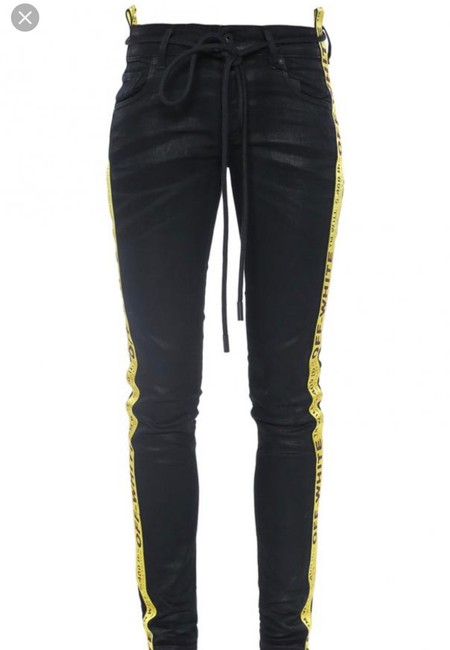 Off-White Skinny Jeans Image 6