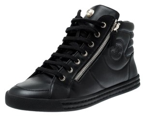 Chanel Leather Black Athletic