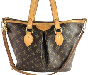 Louis Vuitton Monogram Palermo Crisscross Strap Cross Body Bag