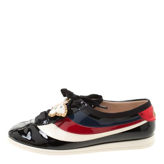 Gucci Leather Patent Leather Multicolor Athletic Image 3
