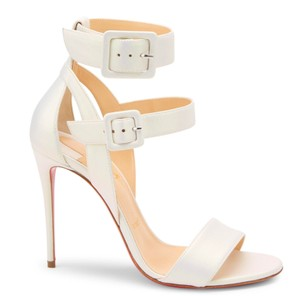 Christian Louboutin Cosmo Pvc Pumps Bridal white Sandals