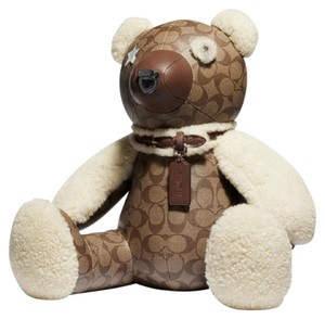 """Coach Coach Signature 15"""" Bear Collectible Limited Edition New"""