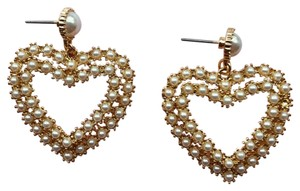 Anthropologie Pearl Hearts