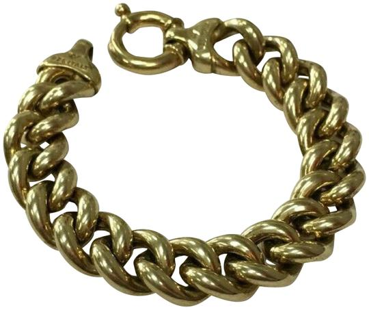 Preload https://img-static.tradesy.com/item/25968932/milor-silver-italian-design-gold-tone-sterling-curb-link-bracelet-0-2-540-540.jpg