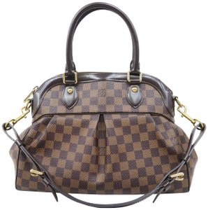 Louis Vuitton Lv Trevi Pm Canvas Satchel in Brown