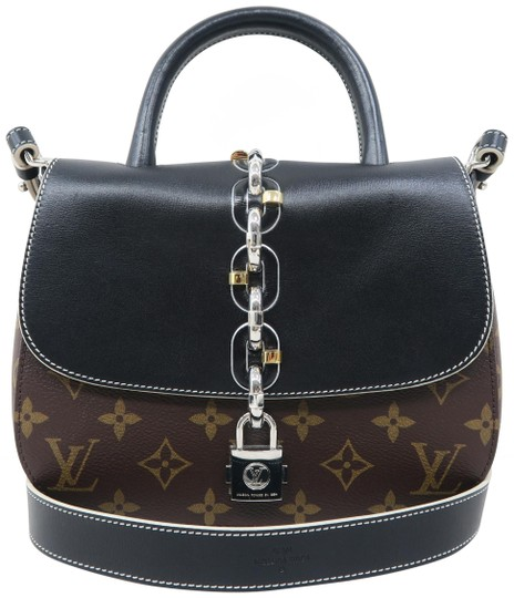 Preload https://item2.tradesy.com/images/louis-vuitton-chain-it-pm-leather-black-and-monogram-calfskin-satchel-25969221-0-1.jpg?width=440&height=440
