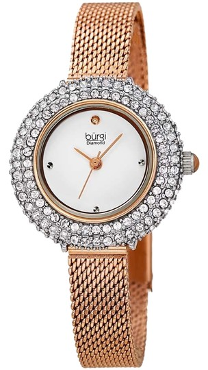 Preload https://img-static.tradesy.com/item/25969410/burgi-silver-gold-tone-case-diamond-stainless-steel-quartz-ladies-watch-0-2-540-540.jpg