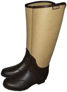 Hunter Beige and brown Boots