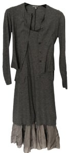 grey Maxi Dress by Morgane Le Fay