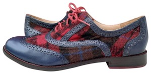 Cole Haan Blue, Red, Black Flats