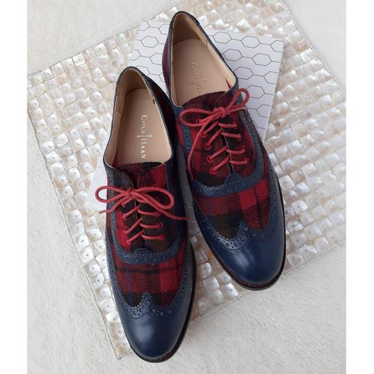 Cole Haan Blue, Red, Black Flats Image 1