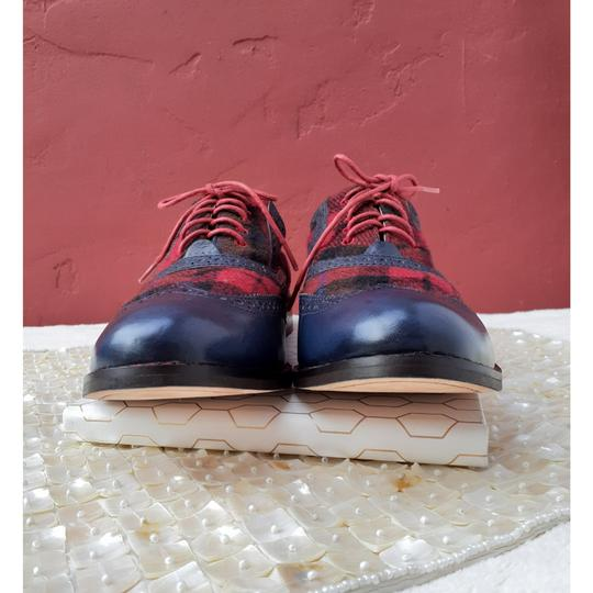 Cole Haan Blue, Red, Black Flats Image 3