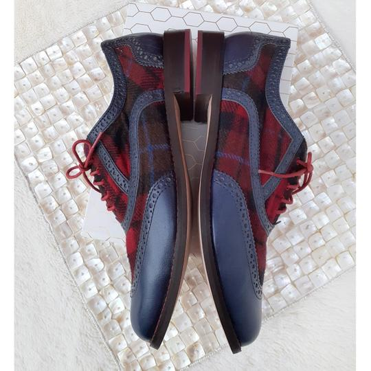 Cole Haan Blue, Red, Black Flats Image 4