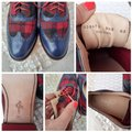 Cole Haan Blue, Red, Black Flats Image 5