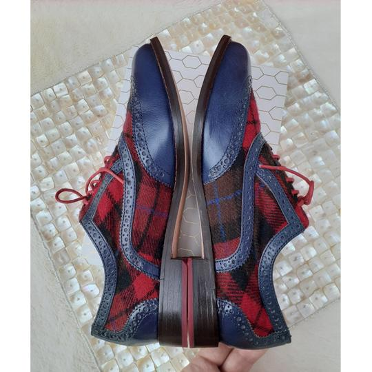Cole Haan Blue, Red, Black Flats Image 6