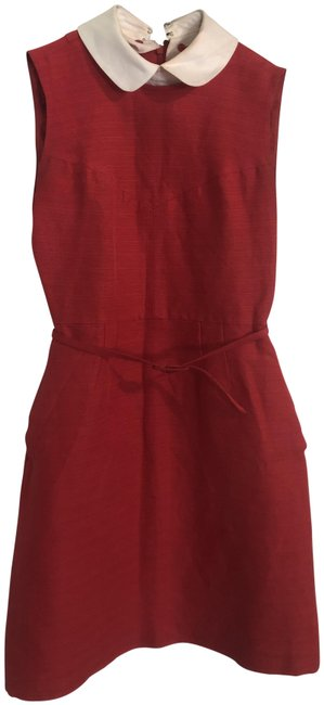 Preload https://img-static.tradesy.com/item/25970761/tory-burch-red-white-collared-short-workoffice-dress-size-0-xs-0-3-650-650.jpg