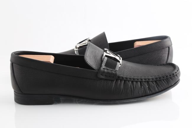 Item - Black Montaigne Loafers Shoes