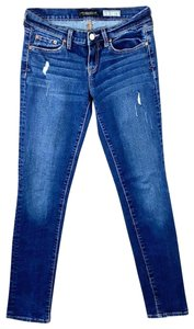 Aeropostale Faded Stretch Skinny Jeans