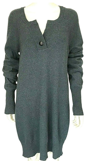 Marc by Marc Jacobs L V Crew Neck Jumper Knit Large Button Size Large Blue Sweater Marc by Marc Jacobs L V Crew Neck Jumper Knit Large Button Size Large Blue Sweater Image 1