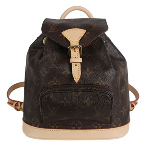 Louis Vuitton Montsouris Weekend/Travelbags Monogram Backpack