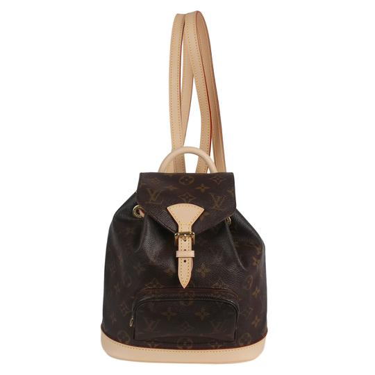 Louis Vuitton Montsouris Weekend/Travelbags Monogram Backpack Image 1