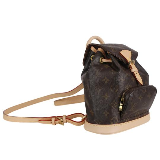 Louis Vuitton Montsouris Weekend/Travelbags Monogram Backpack Image 3