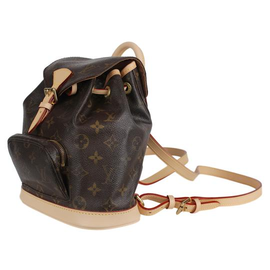 Louis Vuitton Montsouris Weekend/Travelbags Monogram Backpack Image 4