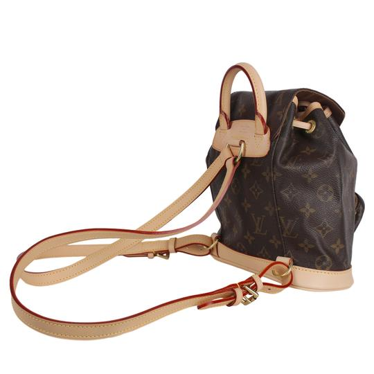 Louis Vuitton Montsouris Weekend/Travelbags Monogram Backpack Image 5