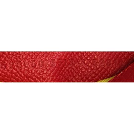 Balenciaga Logo Ville Leather Satchel in red Image 5