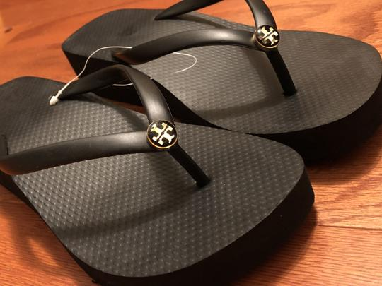 Tory Burch Black Sandals Image 1