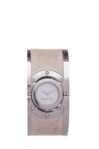 Gucci GUCCI 112 Twirl Bangle Stainless Steel Watch