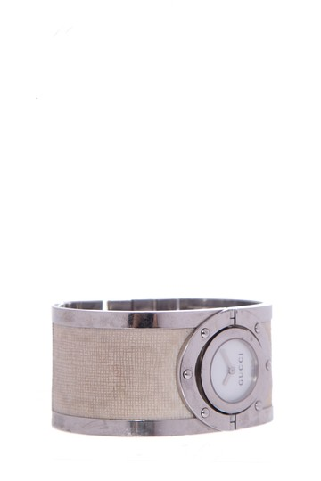 Gucci GUCCI 112 Twirl Bangle Stainless Steel Watch Image 1