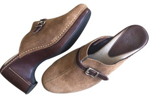 Cole Haan brown Mules