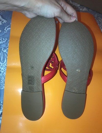 Tory Burch Red Sandals Image 4