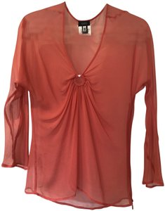 Versace Beach Top Coral
