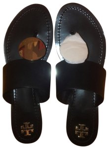 Tory Burch Perfect Black/Gold Sandals