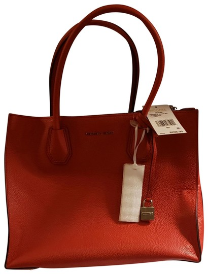Michael Kors Tote in Bright Red Image 0