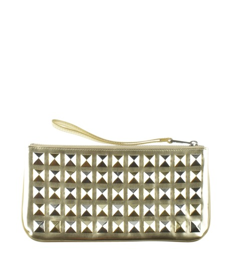 Marc Jacobs Leather Wristlet in Gold Image 4