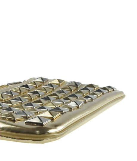 Marc Jacobs Leather Wristlet in Gold Image 6